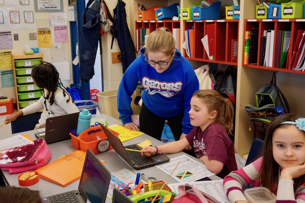 "<h1>Valuing Volunteerism</h1> <p>HWS fifth-grade teacher Todd Swanson has found a way to show his students the importance of giving back and volunteerism while simultaneously providing them with valuable leadership opportunities.<br />  <br /> <a href=""https://hws.bps101.net/news/valuing-volunteerism-1""><strong>Read more ></strong></a></p>"